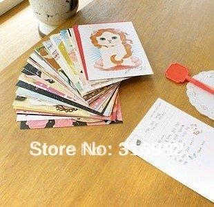 High-quality creative paper cute cats Postcard / greeting card