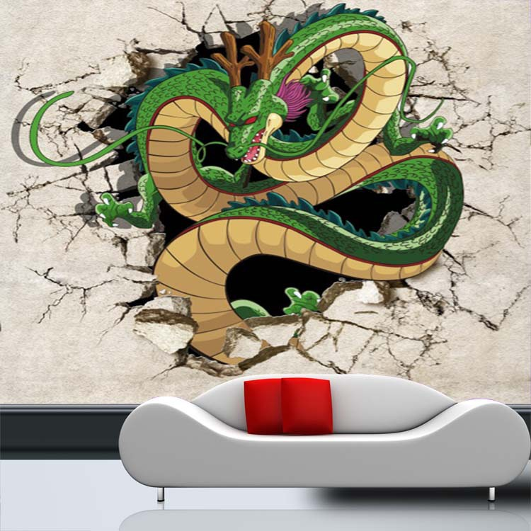 Buy 3d dragon photo wallpaper dragon ball for Decor mural 3d