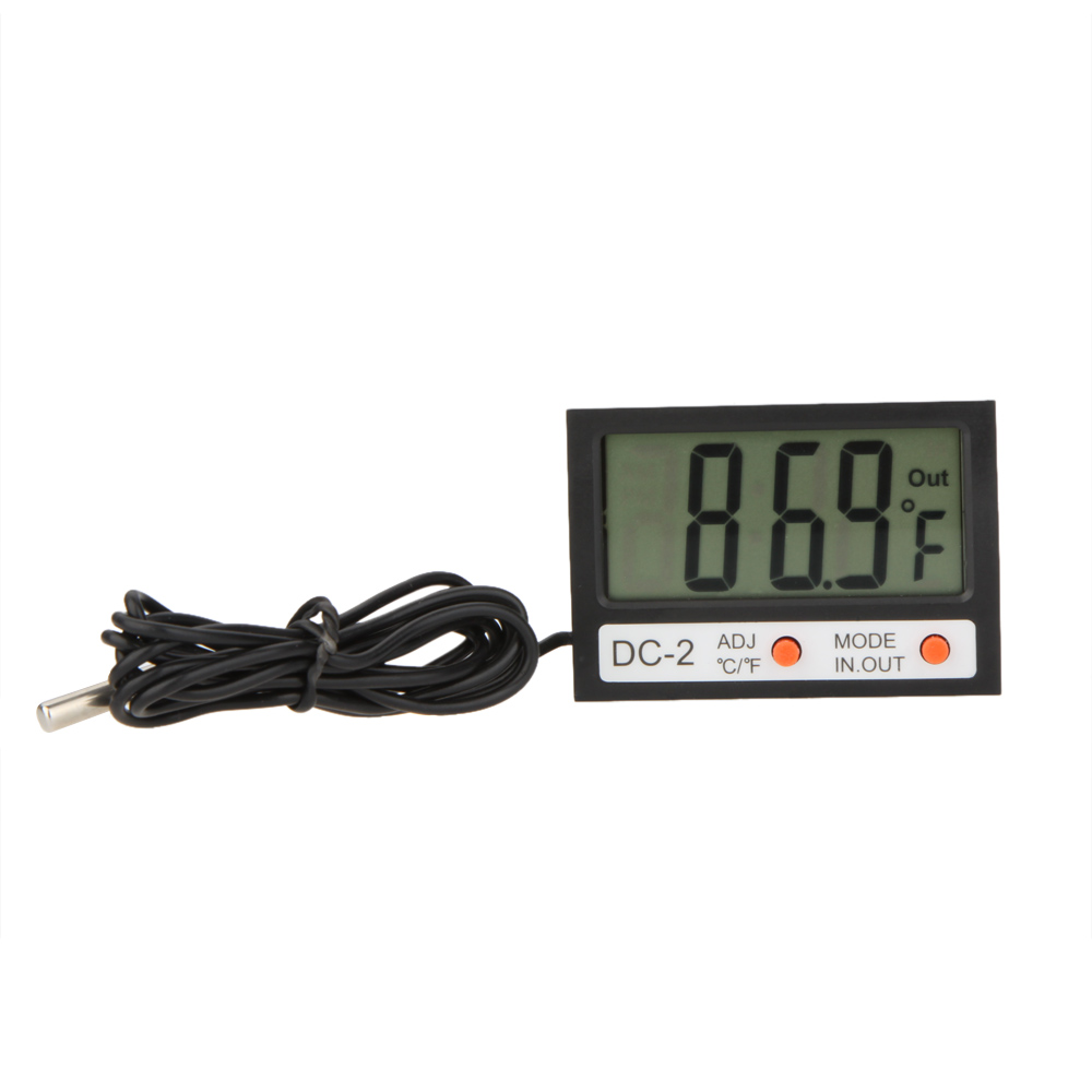Mini Digital Thermometer Multifunctional Temperature Meter LCD Time Clock Indoor Outdoor Weather Station Tester Diagnostic-tool(China (Mainland))