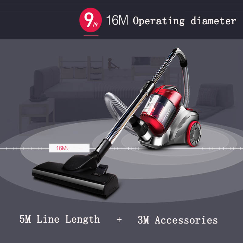 Household electric vacuum cleaner ultra-quiet powerful dust cleaner handheld instrument C3-L148B 220V 1200W 4pcs/lot free DHL(China (Mainland))