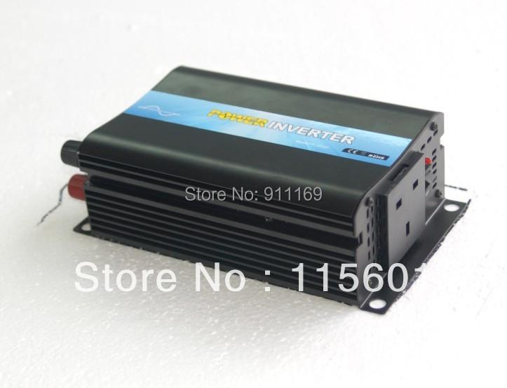 300w 12v to 240v British Sockets Solar Wave Inverter Off-Grid Tie Type, dc ac Inverter 300watts & EMS DHL free shipping(China (Mainland))