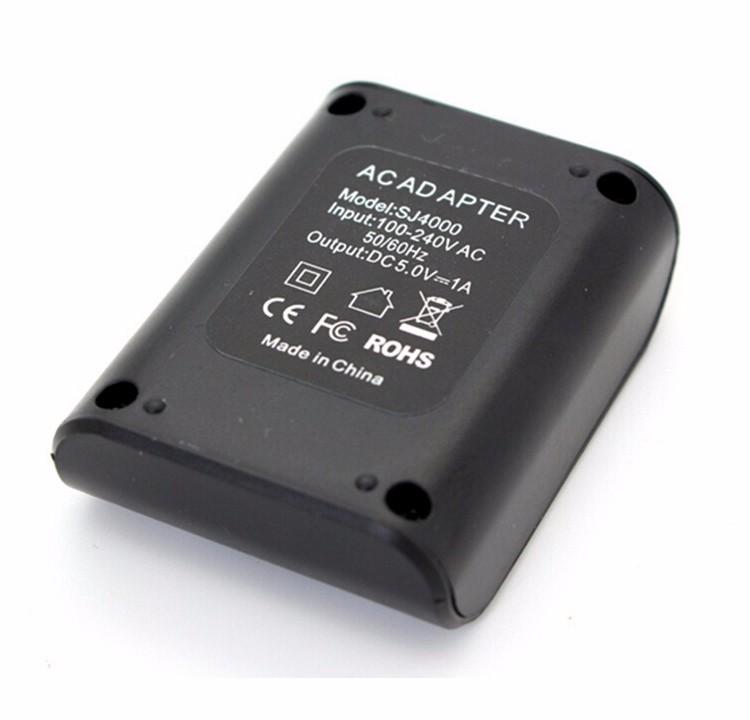image for Original 1050mah EKen 4K Action H9 Camera Battery 2 + 1pcs Charger For