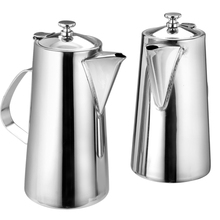 High capacity Stainless steel cold water kettle Bar pot Ice tea kettle 2.0L Short mouth(China (Mainland))