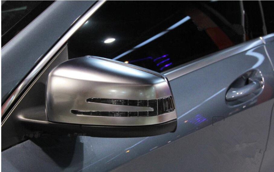 Abs matt side door mirror cover trim 2pcs for mercedes for Mercedes benz side mirror price