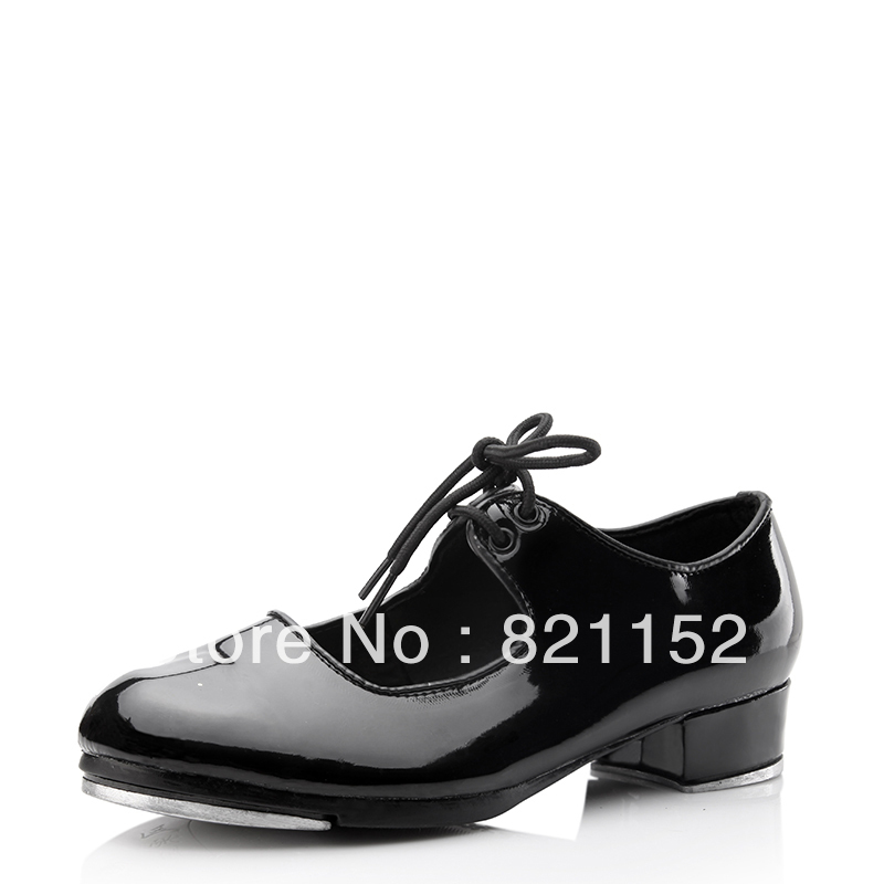 Patent Leather Upper Dance Shoes Ballroom Tap Shoes for ...