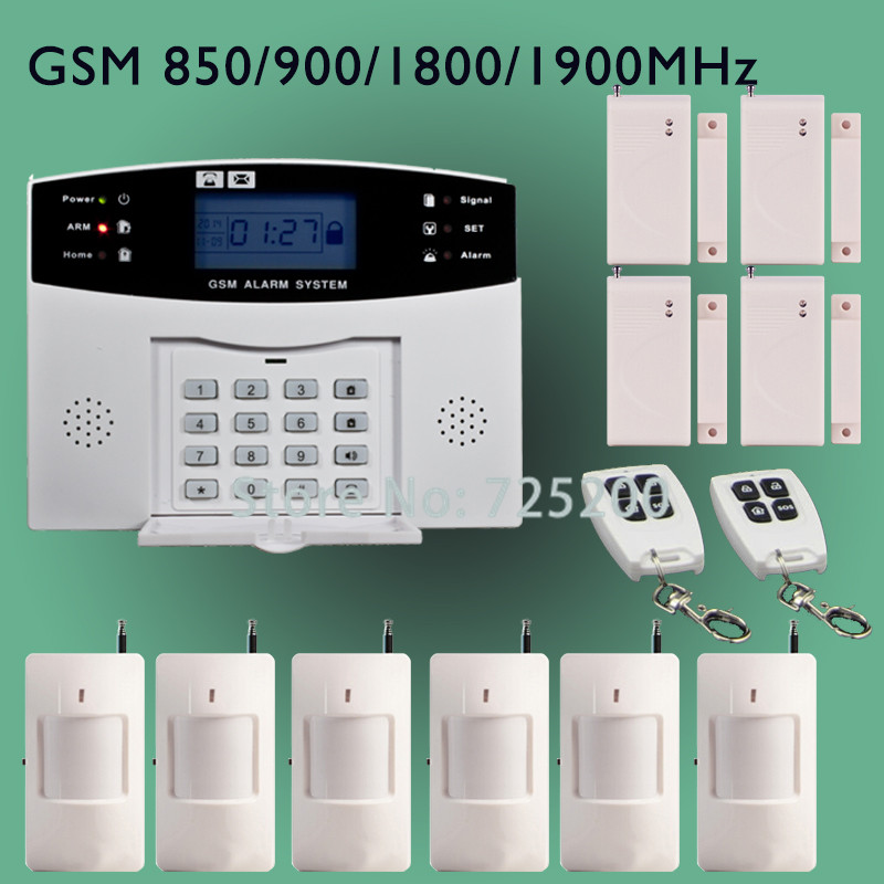 Buy ag security dp 500 2 6 inch home guard gsm sms alarm for Buy house alarm system