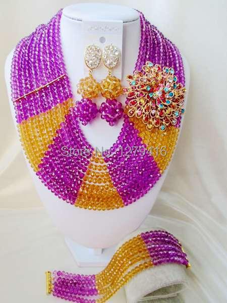 Best Sale  Fashion  crystal beads nigerian wedding african beads jewelry set costume jewelry sets  ASD1145<br><br>Aliexpress