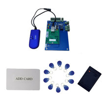 Free ship,wireless Singer Door access control,with mother card ,1pcs wifi access control ,2pcs reader,10pcs tags,sn:wifi_L01kit