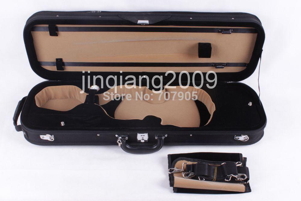 Фотография one new 4/4 Violin case #DGF002 Deluxe The high-grade violin box beautiful and durable lightweight shockproof