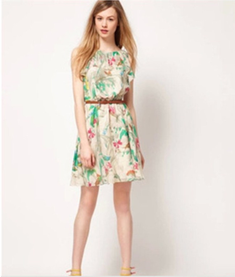summer dress 2014 channel clothing new desigual print
