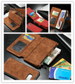 CaseMe Two in One Luxury Leather Magnetic Wallet Case for Samsung Galaxy s6 edge plus Flip