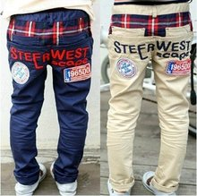NEW spring pants Children's pants boys Trousers Casual pants 3 color /5 pcs lot BY-09(China (Mainland))