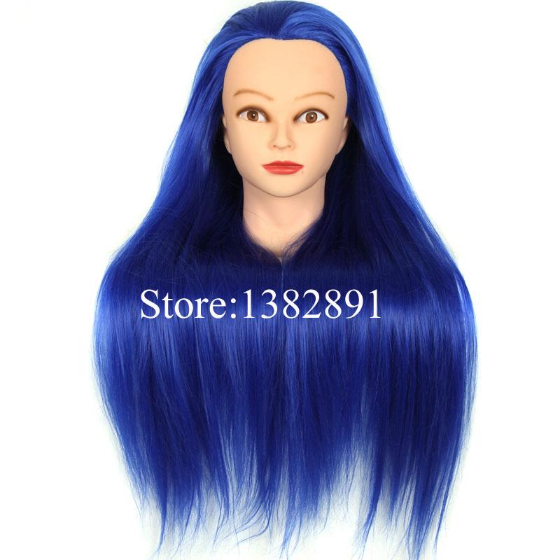 HairdresserMannequinHeadWithHair24HeatResistant