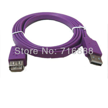 Free Shipping 1.5M USB 2.0 Extension Cable AM/AF Male to Female