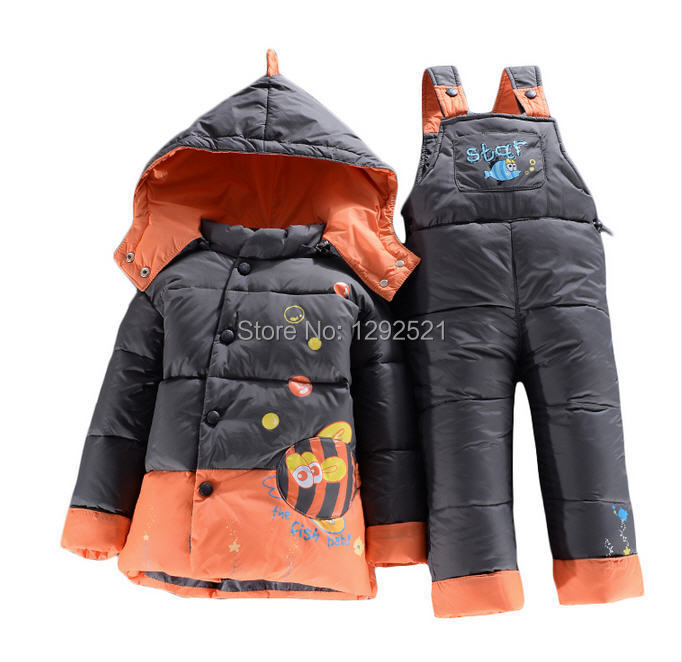 Winter next newborn baby girls boys clothes,children's hooded suits,kids sports thick clothing sets baby, - Kids' Best Choice store