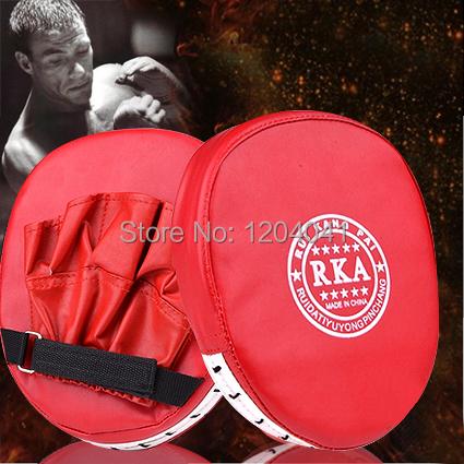 Boxing Punch Pads Training Sanda Mitts Martial Muay Thai Karate Kick Kit Curved Hand-Target Taekwondo Target Foot FocusTarget