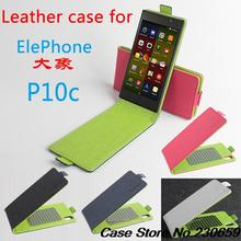 100pcs/lot Colourful case for Elephone P10 P10C Leather Case Up Down Open Cover Case For Elephone P10 P10C free DHL+free Gift
