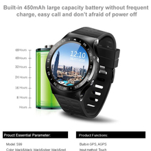 Buy  (In Stock) ZGPAX S99A 3G Smart Watch Android 5.1 2.0MP Cam GPS WiFi Pedometer Heart Rate 3G Smartwatch PK KW88 No.1 D5 X3 Plus for $81.53 in AliExpress store