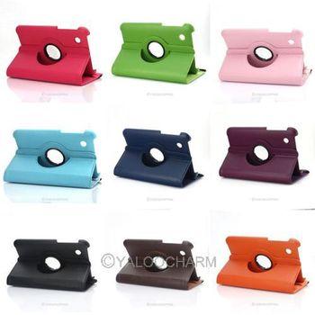 1pcs Housse Etui Coque Cuir Tablette 360 Pour Samsung Galaxy Tab 2 7.0 P3100 P3110 81213-81221