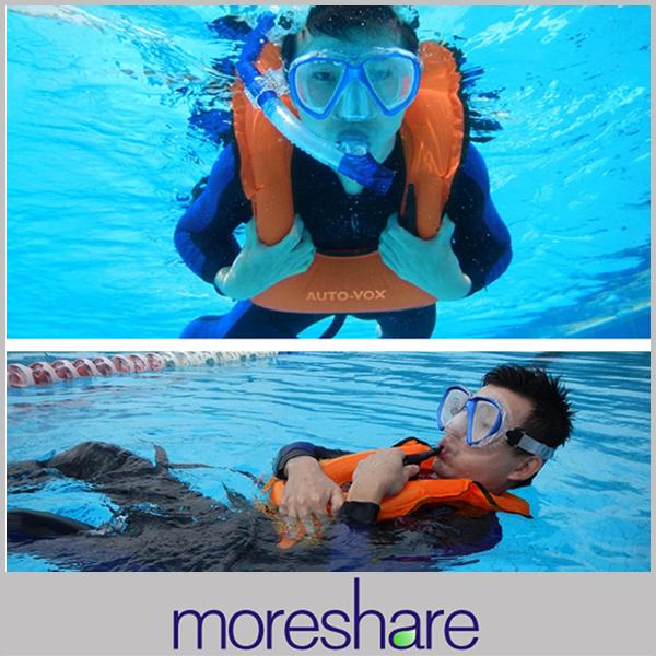 Self-help inflatable life vest adult snorkeling vest life jacket drifting swimming vest 420 nylon& TPU(China (Mainland))