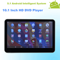 Android 5 1 Headrest 10 1 Inch Monitor HD Car DVD Player HDMI WIFI Capacitive Touchscreen