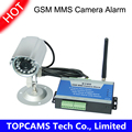 Quad band GSM MMS camera controller S180 remote switch PIR motion detector with waterproof IP camera
