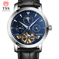 2016 Luxury tss Brand Six pin Men s Watch Automatic Mechanical Watch leather Waterproof Male Casual