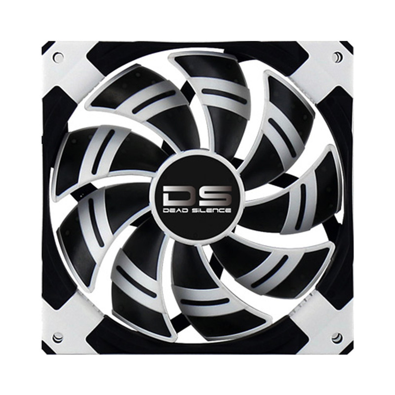 Brand New Aerocool DS Case Cooling Fan 120mm White Edition With 3 Pin & 4 Pin Silence Fan For Computer PC Case Cooling(China (Mainland))