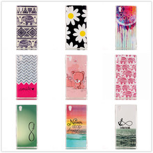Luxury Quality Soft TPU Silicone Protective Phone Bags Case for Lenovo P70 P70-T P70t P 70 Cover Rilakkuma Elephant Cat Design