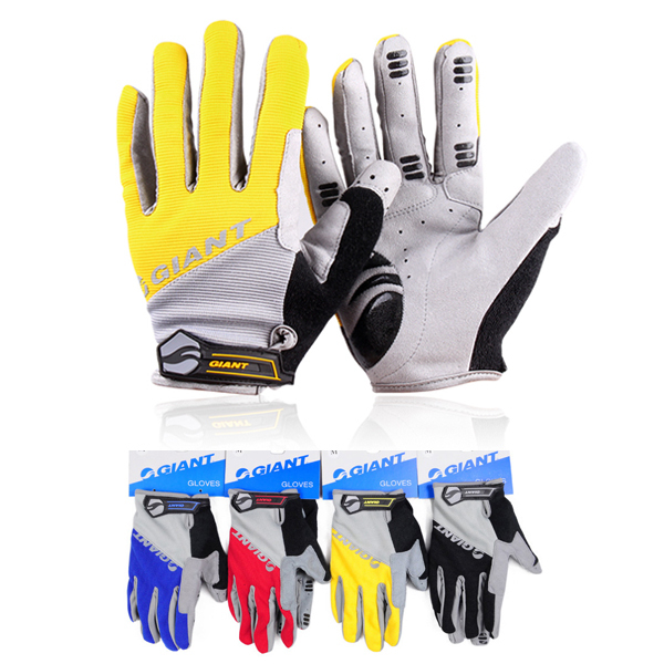 Brand Giant  Winter Warm Full Finger Cycling Gloves Sports Accessory road Mountain bike silicone non-slip breathable gloves(China (Mainland))