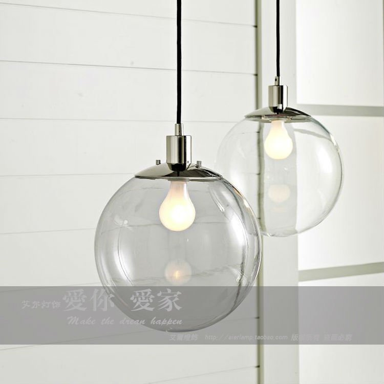 20MM Round Ball Lights Mordern Simple And Feshion Glass