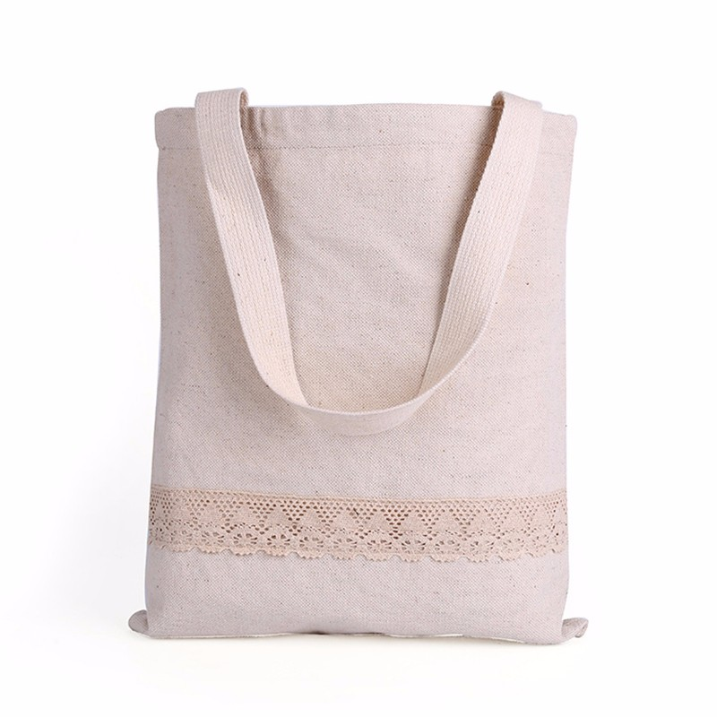 Lace Canvas Handbags Women Shoulder Bags Hollow Out Casual Tote Bolsa Lady Summer Beach Shopping Bag Vintage Style(China (Mainland))