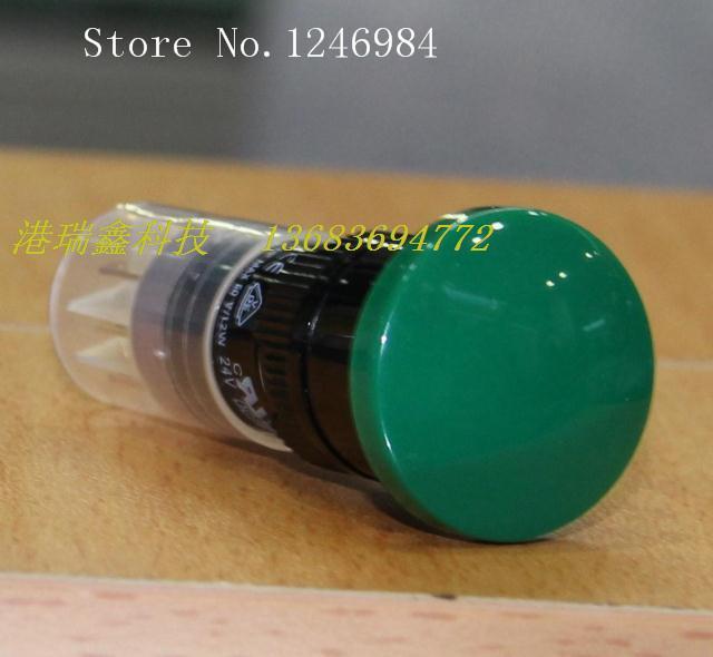 [SA]M16 no lock reset button switch DECA Taiwan Progressive Alliance round green button mushroom P16LMR3-1AB--10pcs/lot<br><br>Aliexpress