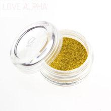 LOVE ALPHA 13 Colors Eye Shadow Flash Powder Super Bright Pearl Shining Bright Glitter Powder Pink Diamond Brand Makeup(China (Mainland))