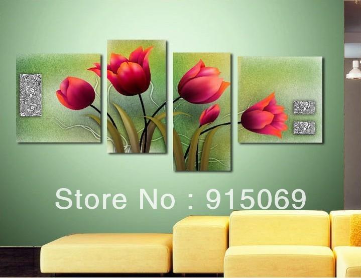 Compra marco de la cama verde online al por mayor de china - Pinturas modernas para dormitorios ...