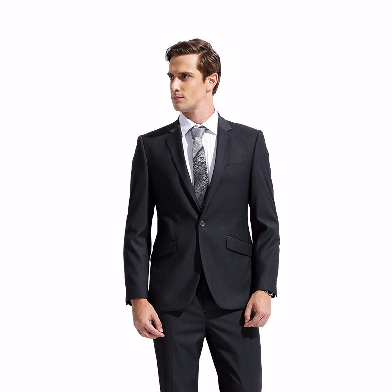 DARO 2017 Men's Suit Slim Fit Business Formal Wear Jacket and Pants Casual Clothes DR8158(China (Mainland))