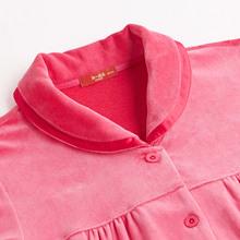 Manni s still product plus a long sleeved modal Lingerie autumn and winter velvet suit tracksuit