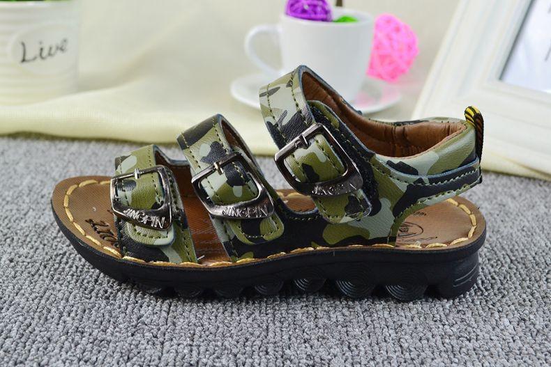 Сандалии для мальчиков 2015 OF7 Кожа