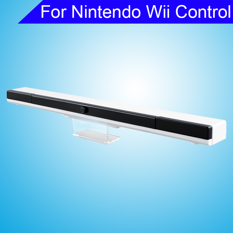 New Wireless Infrared Ultra IR Sensor Bar For Nintendo For Wii Control Replacement Video Accessories(China (Mainland))