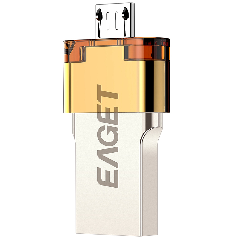 EAGET V80 Official 16G 32G 64G Smartphone USB 3 0 Flash Drive Pen Drive Micro USB