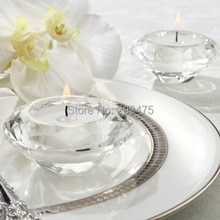 Crystal Diamond Shape Candle Holder 4PCS/LOT