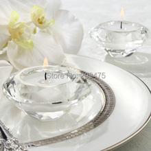 Crystal Diamond Shape Candle Holder 4PCS/LOT