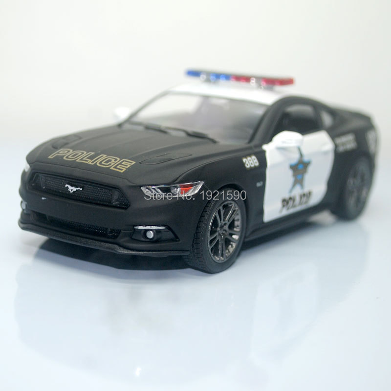 (10pcs/pack) Wholesale Brand New KINGSMART 1/38 Scale USA Ford Mustang 2015 Police Ver. Diecast Metal Pull Back Car Model Toy(China (Mainland))