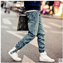 Trend Of Men's Jeans!the New Men's Jeans Men's Brand Of Jeans High-end Men's Feet Jeans