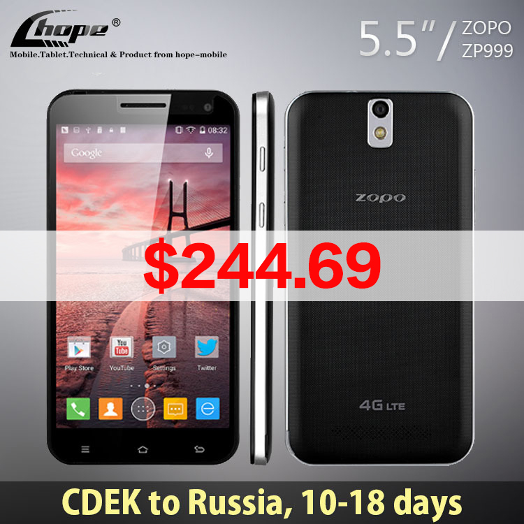 Мобильный телефон ZOPO ZP999 3 X zp3X 5.5 FHD MTK6595 Core 2,0 Android 4.4 3 32 ROM 14.0MP NFC OTG 4 g FDD LTE мобильный телефон huawei 6 4 g lte fdd core dual sim 5 hisilicon 4 4 3 16g 32 wcdma