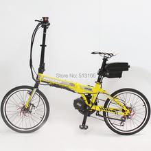 2014 Cheap Electric Bicycle Wholesale Price Ebike 36V 250W White Mini Foldable Electric Bike+36V 12Ah Li-ion Battery(China (Mainland))