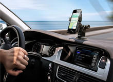 Easy One Touch Car Mount Cell phone Holder for iPhone 6s Plus for Samsung S6 S5 Edge Plus Note 5 4 for Google Nexus 5 4 LG G4(China (Mainland))