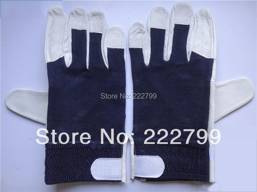 free shipping Sheepskin gloves argon arc welding gloves driver gloves wear-resistant gloves leather gloves welding gloves