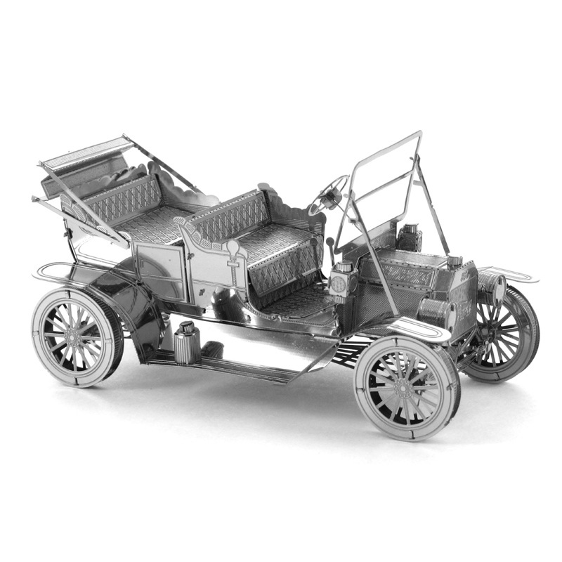 Ford Model T Car 3D Metal Puzzle Model Eucational Jigsaw Puzzle Toys