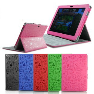 """DHL/EMS free shipping 20X Magical Girl Leather case cute cover protective shell skin for Samsung Galaxy Tab 10.1"""" P5100/P5110(China (Mainland))"""